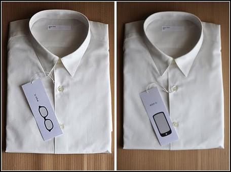 Рубашка для владельцев очков и гаджетов с большим экраном