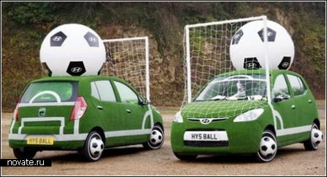 Креативная футбольная реклама