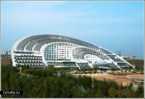 Китайский солнечный «веер»