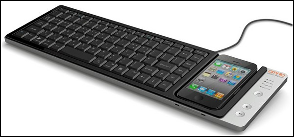 Клавиатура Wow-Keys с доком для iPhone