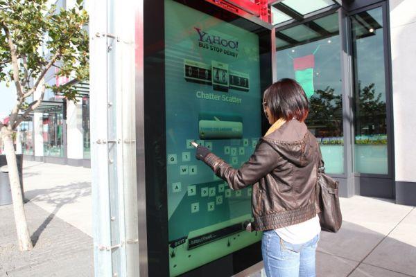 Yahoo! Bus Stop Derby – остановки для соревнований между районами