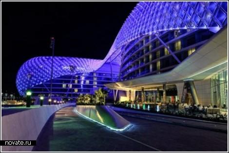 5000 светодиодов отеля в Абу-Даби