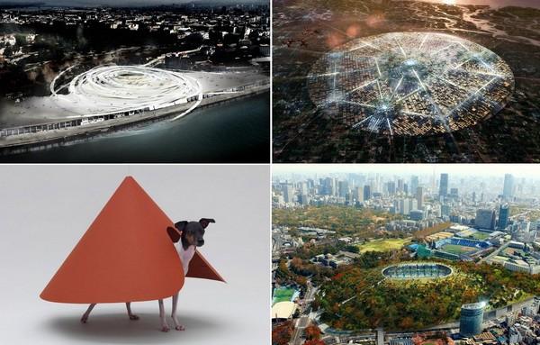 Лучшие концептуальные архитектурные проекты 2012 года