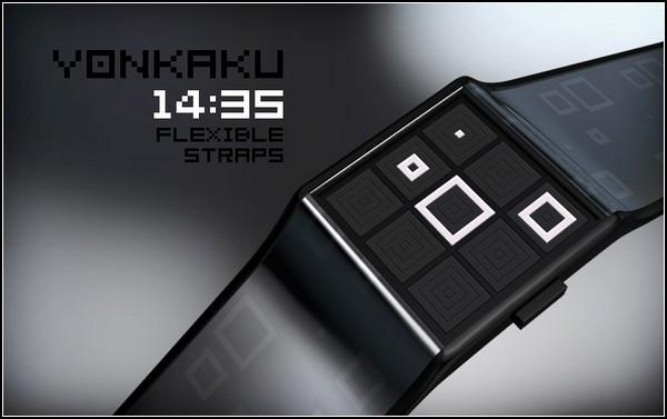 Наручные часы Yonkaku Watch для кубистов