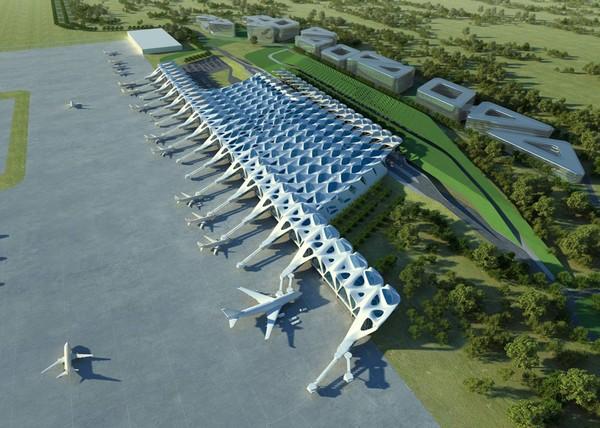 Новый лондонский аэропорт. Проект от Захи Хадид