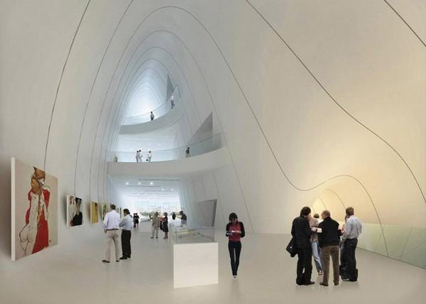 Культурный центр имени Гейдара Алиева от Захи Хадид (Zaha Hadid)