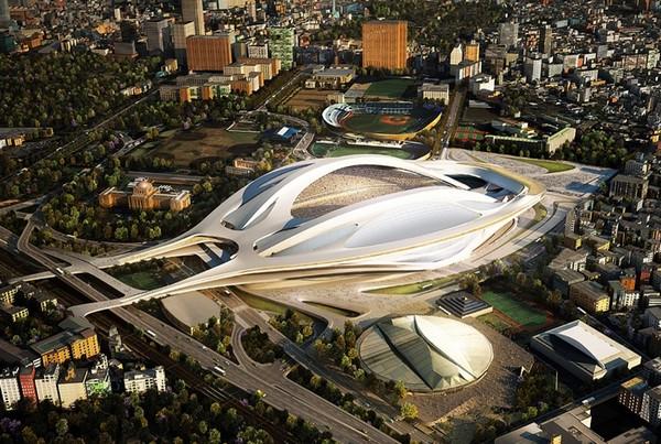 Заха Хадид — победитель конкурса по созданию проекта Национального стадиона Японии