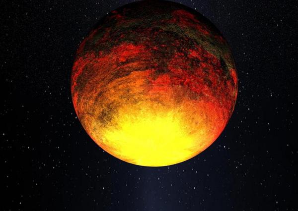 Kepler-10b. Самая маленькая планета.