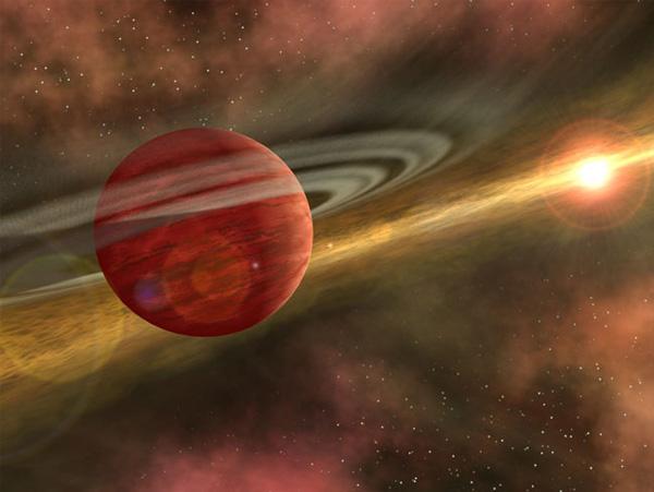 Coku Тау 4. Самая юная экзопланета.