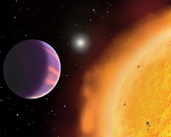 HAT-P-1. Самая легкая планета.
