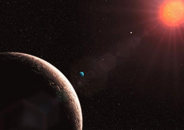Gliese 581-е. Экс-самая маленькая планета.