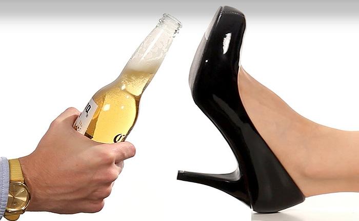 21 гениальный и веселый способ открыть бутылочку пива.
