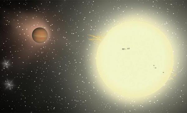 TrES-4. Самая крупная экзопланета.