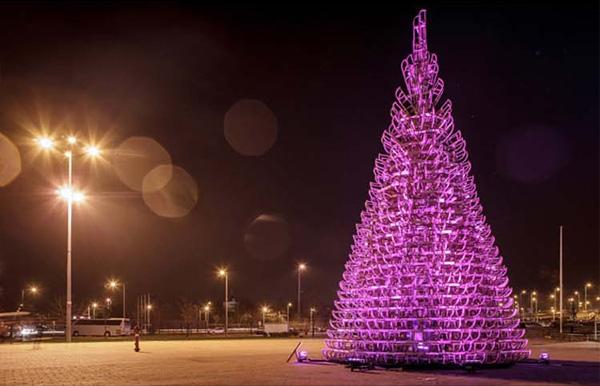 Вечерняя иллюминация. Рождественская Елочка.