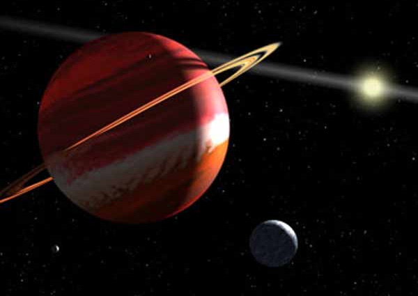 Epsilon Eridani b. Ближайшая планета.