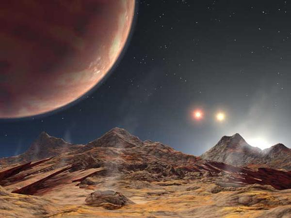 HD 188753. Планета трех светил.