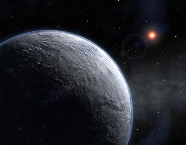 OGLE-2005-BLG-390L b. Самая холодная и самая далекая планета.