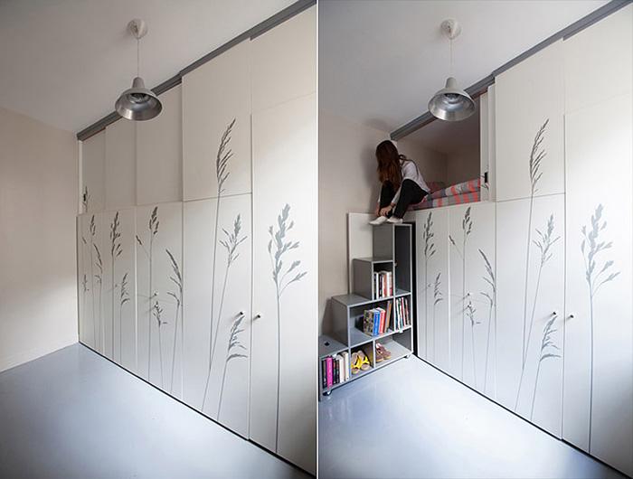Оптимизация жилого пространства. Удобное жилье на 8 квадратных метрах.