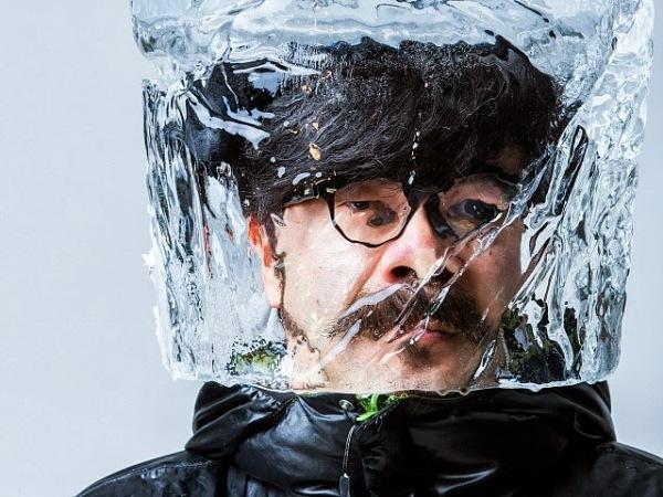 Ледяные маски от дизайнера Baku Maeda.
