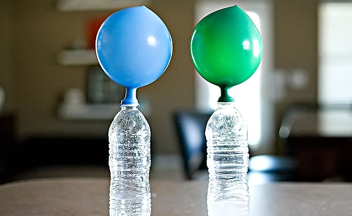 Альтернативный способ надуть воздушный шарик.