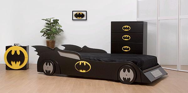 Кровать для маленьких супер-героев.