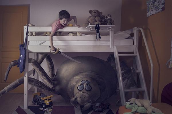 Фотографии, в которых дети побеждают свои страхи.