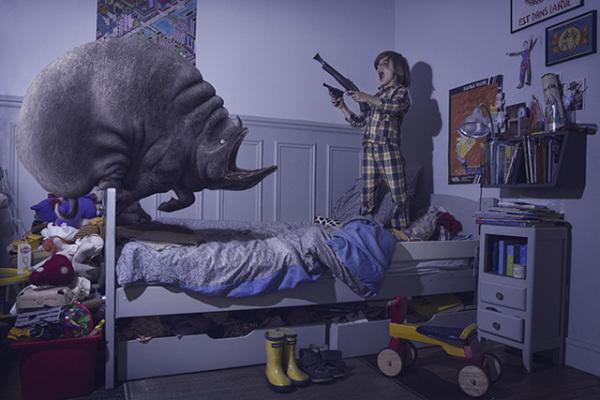Как бы выглядели детские кошмары в реальности.