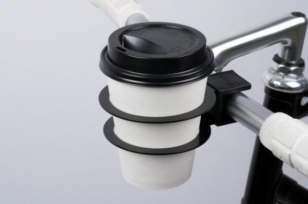 Bookman Cup Holder - подстаканник для городских велосипедистов.