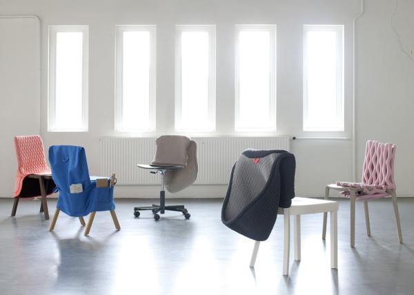 Коллекция чехлов, дающая стульям вторую жизнь.