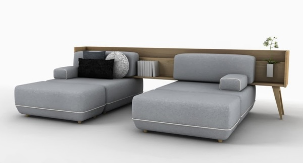Две односпальные кровати. Вариация проекта «Two Be».