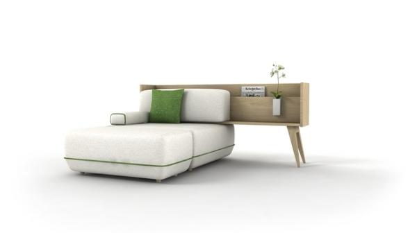 Мебельный гибрид комода и дивана «Two Be». Модель на одну персону.