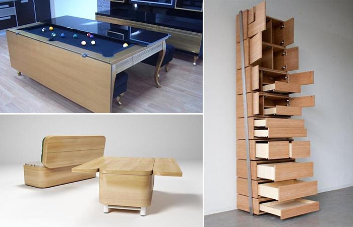 Необычная мебель от дизайнеров-гениев.