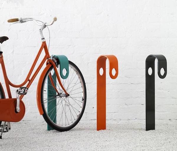 Велосипедная стойка от шведских дизайнеров.