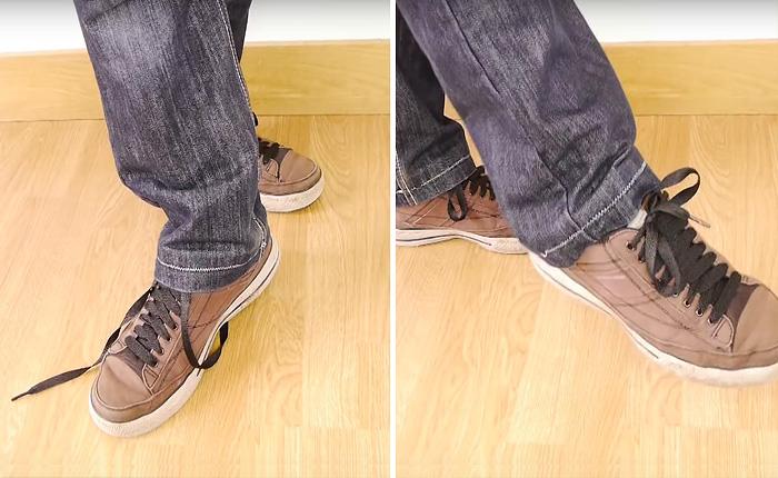 Как завязать шнурки волшебным образом?