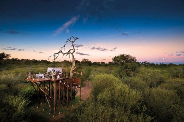Южноафриканские колоритные номера в заповеднике.