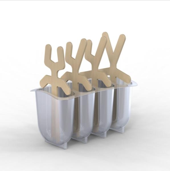 Lollypop Men - комплект для домашнего мороженого.