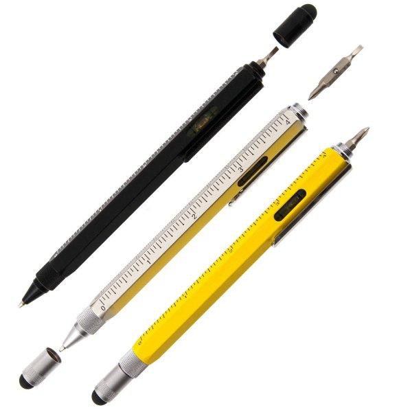 Multi-Tool Stylus Pen - многофункциональная шариковая ручка.