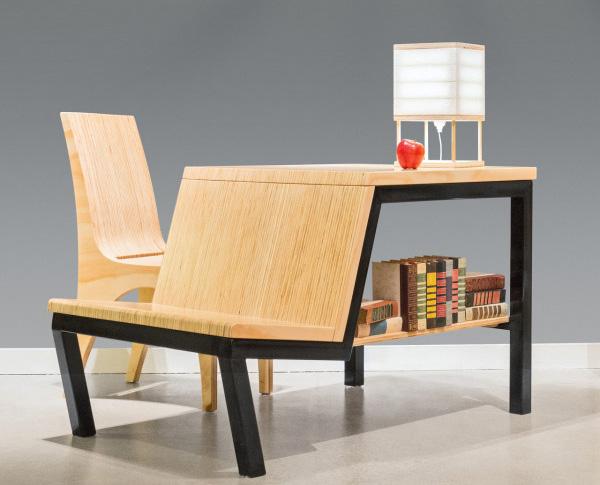 Стол три-в-одном для небольших помещений.