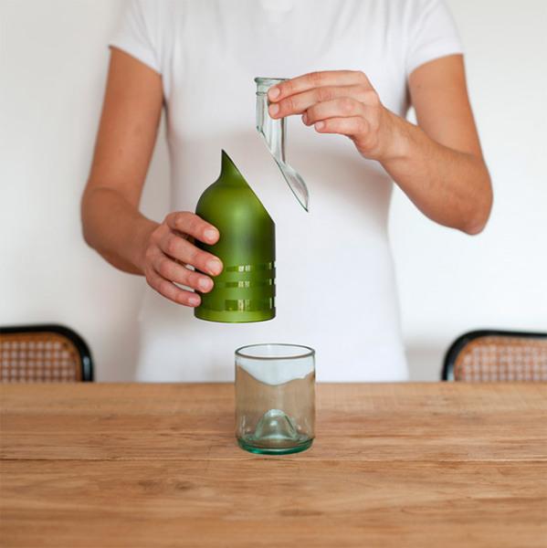 Все края бутылки обработаны, так что предметы безопасны в использовании.