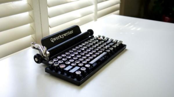 Qwerkywriter. Необычная клавиатура для сенсорных устройств.