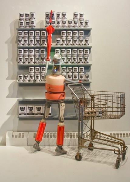 Поход в магазин. Проект «Тайная жизнь роботов».