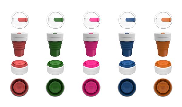 5 вариантов цветов Smash Cup.