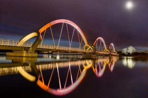 Solvesborg - самый длинный пеший мост в Европе.