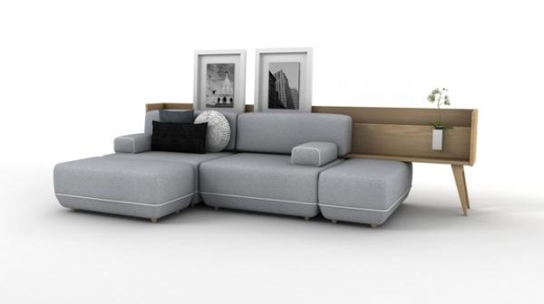Two Be - комплект мебели от испанской студии.