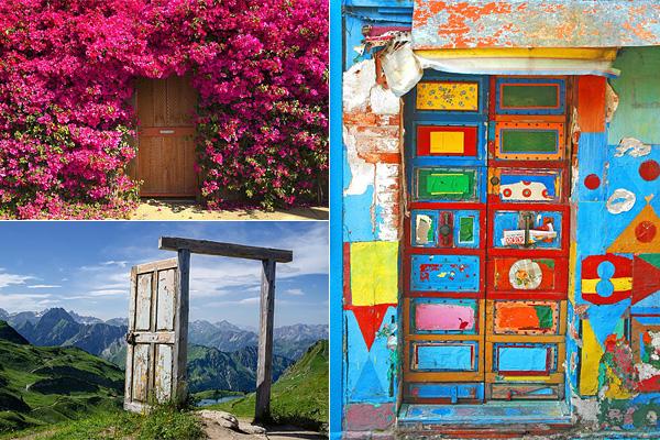 Необыкновенные двери со всего света.