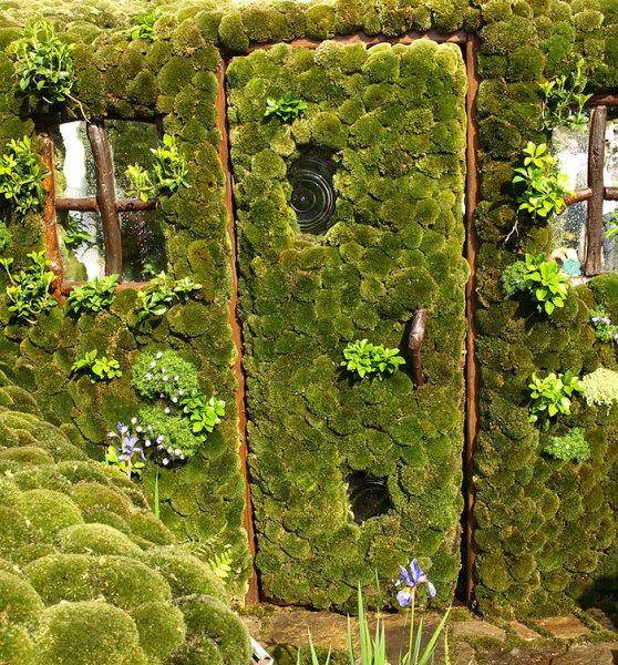 Дверь в сад, Япония.