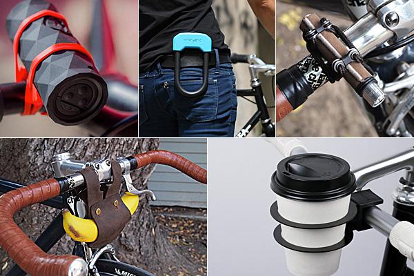 5 функциональных приспособлений для велосипедов.