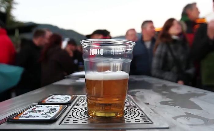 Самый быстрый и беспенный способ налива пива.