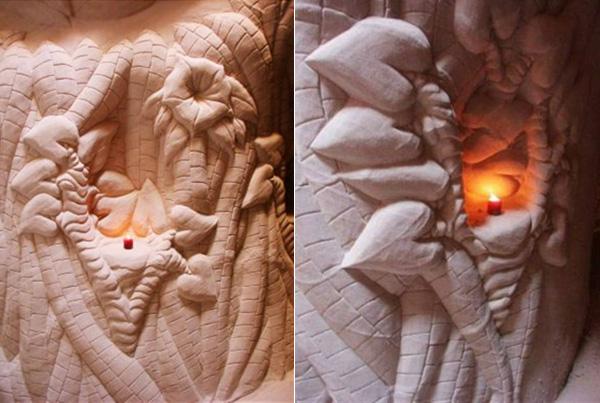 «Древо человеческой доброты». Одна из пещер.