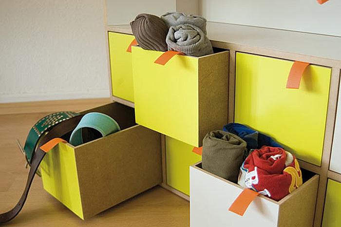 Компактный набор мебели Casulo. Детали. Комод.